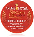 Creme of Nature Argan Oil Perfect Edges Control 64g Jar [Personal Care] (Frisier-Cremes & Wachs)