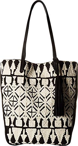 Lucky Reeve Tote, Black/White ()