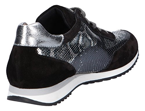 Paul Green 4444-008, Chaussures de ville à lacets pour femme Schwarz
