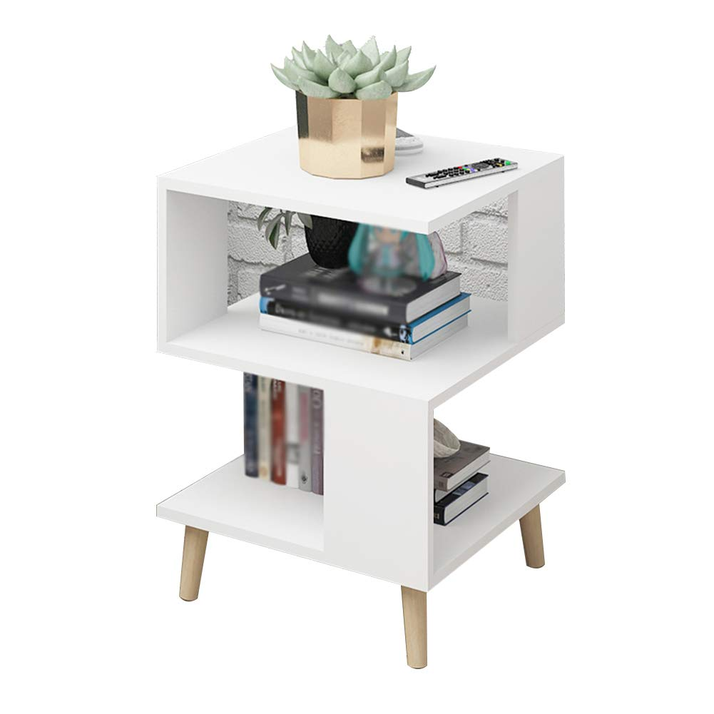 White-D As shown Tingting Simple Drawer with Door Economic Type Bedside Wood-Based Panel Four-Corner Support 7 Styles to Choose from (color   White-H, Size   As Shown)