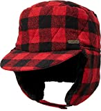 Field & Stream Men's Ear Flap Trapper Hat (Red, Large/X-Large)