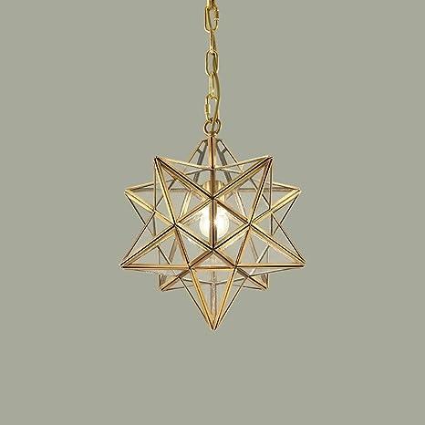 Classici lampadari in rame europeo Golden lusso stella lampadari ...
