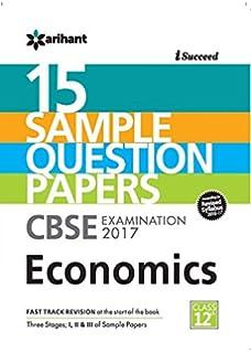 CBSE 15 Sample Papers Economics for Class 12 price comparison at Flipkart, Amazon, Crossword, Uread, Bookadda, Landmark, Homeshop18