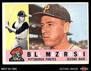 Amazoncom 1960 Topps 55 Bill Mazeroski Pittsburgh