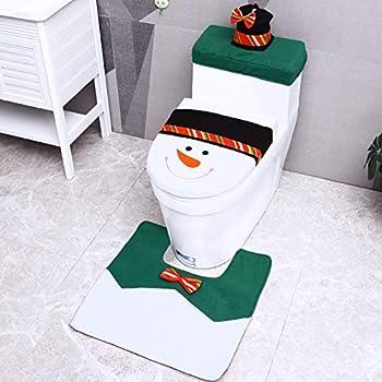Prime Amazon Com D Fantix 3D Nose Santa Toilet Seat Cover Funny Creativecarmelina Interior Chair Design Creativecarmelinacom