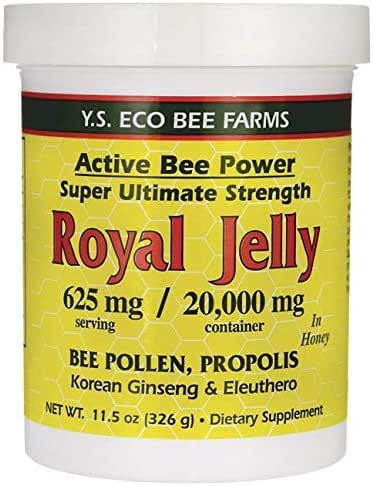 YS Royal Jelly/Honey Bee - Royal Jelly In Honey Ult Strength, 11.5 oz gel