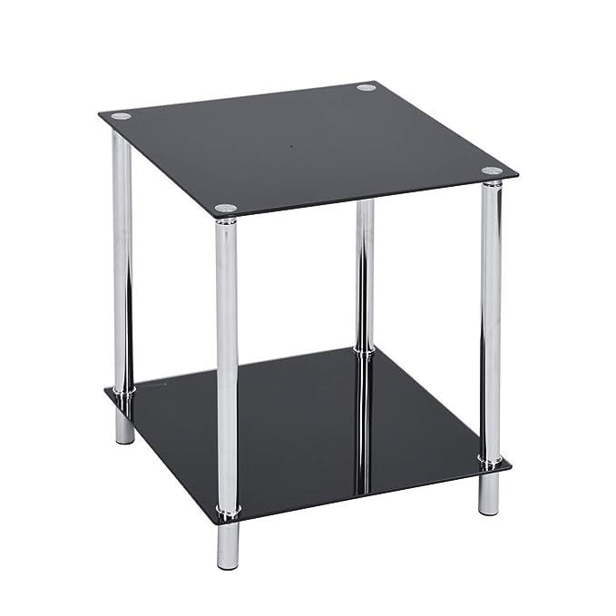 Amazon.com: FurnitureR - Mesa de centro con estructura ...