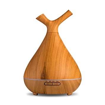 Difusor Creativo Dormitorio hogar Estufa de aromaterapia salón de Belleza Enchufe Aroma humidificador 400 ml Creativo