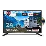 Ferguson-12-volt-F2420RTSF-12v-24-inch-Smart-LED-TVDVD-Download-Apps-Netflix