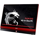 MSI G Series AG220 2PE-008US 21.5-Inch All-in-One Touchscreen Desktop (Black/Red Trim)