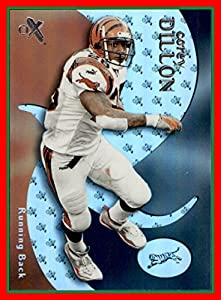 2000 E-X #24 Corey Dillon CINCINNATI BENGALS WASHINGTON HUSKIES