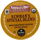 Newman's Own Organics K-Cup Portion Pack for Keurig K-Cup Brewers, Newman's Own Special Blend (Pack of 96) (Packaging may vary)