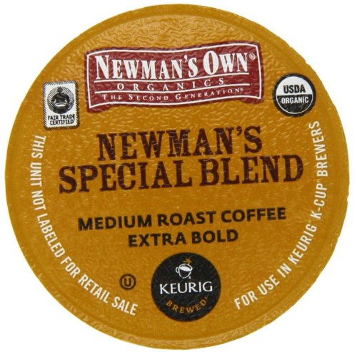 - Newman's Own Special Blend Coffee, K-Cup Portion Pack for Keurig K-Cup Brewers (Pack of 48)