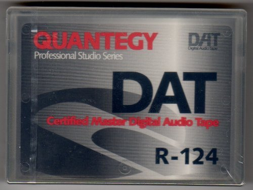 Quantegy Professional Studio Series Digital Audio Tape R-124