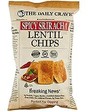 The Daily Craved Lentil Chips Sriracha, 120g