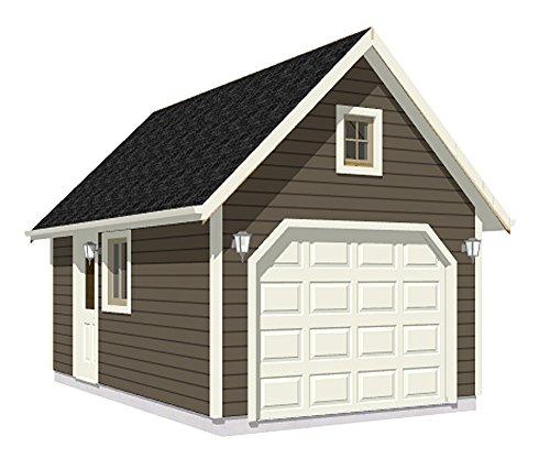 Garage Plans : 1 Car 240-2C - 12