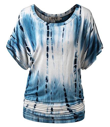 DJT Womens Kimono Sleeve Dolman