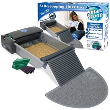 SmartScoop Automatic Self-Cleaning Litter Box