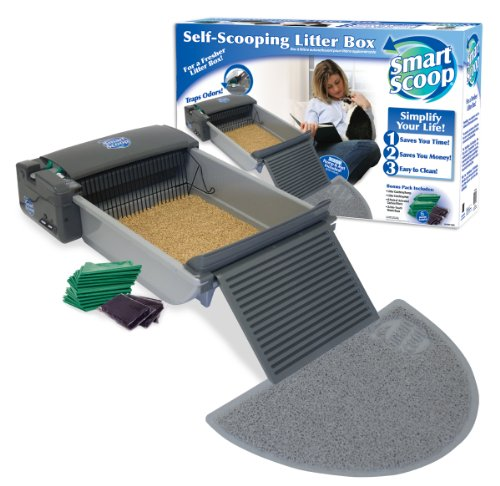 SmartScoop Automatic Self-Cleaning Litter Box by SmartScoop