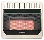 Cedar Ridge MN3PHG ProCom Ventless Natural Gas Heater Manual Control Wall Heater, 30,000 BTU