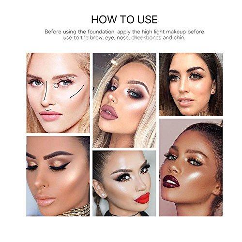 Amazon Com Ftxj 25ml Shimmer Liquid Highlighter Makeup Face Cheeks