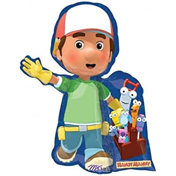 Handy manny birthday party supplies mylar for Handy manny decorations