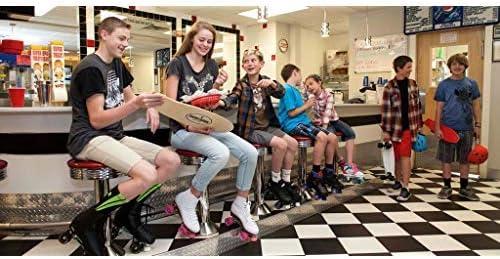 Chicago Girls Sidewalk Roller Skate White Youth Quad Skates