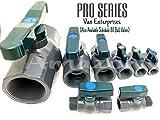 "Van Enterprises 3"" PRO Series PVC Bulkhead Tank"