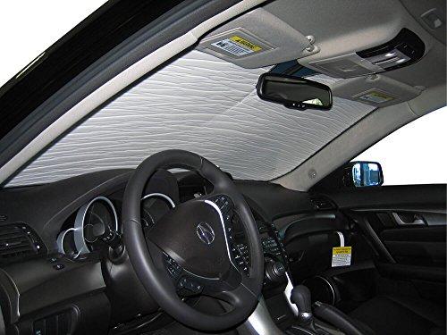 Acura Tl Windshield Sunshade - HeatShield The Original Auto Sunshade, Acura TL Sedan 2009, 2010, 2011, 2012, 2013, 2014, Silver Series