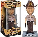 Walking Dead Rick Grimes Bobble Head Figure x Wacky Wobbler Series