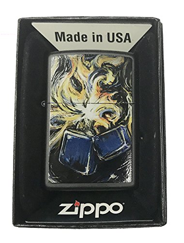 Zippo Lighter Custom Art - 4