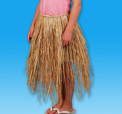 24'' x 21'' CHILD RAFFIA HULA SKIRT, Case of 72