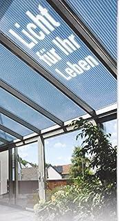 Sehr Polycarbonat Stegplatten Hohlkammerplatten klar 3000 x 1050 x 6 mm  OW83