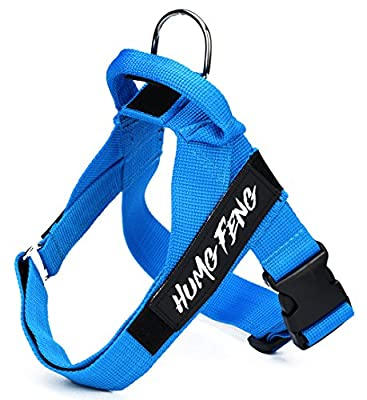 Dog Harness - Heavy Duty - Adjustable & Durable - Best Pet Control Training and Walking - With Handle - No Pull - Rescue Harness Collar for Large/Medium/Small Dog