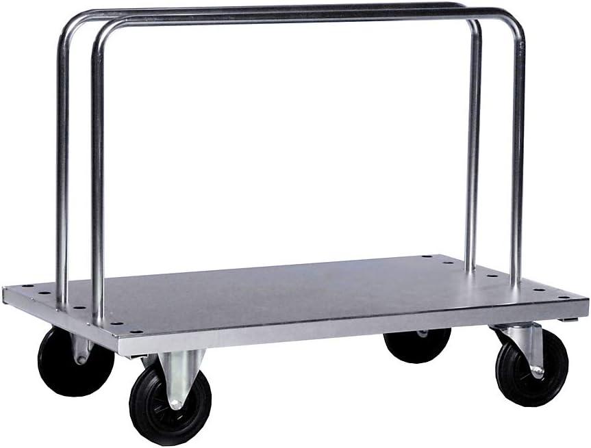 Tragf/ähigkeit 500 kg Kongamek Verzinkter Schwerlast-B/ügelwagen 2 B/ügel LxBxH 1250 x 700 x 945 mm inkl B/ügelwagen Schwerlasttransportwagen