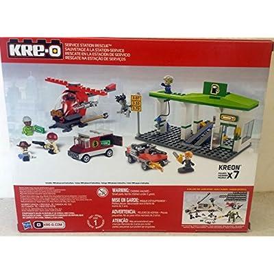 KRE-O Service Station Rescue 260pcs: Toys & Games