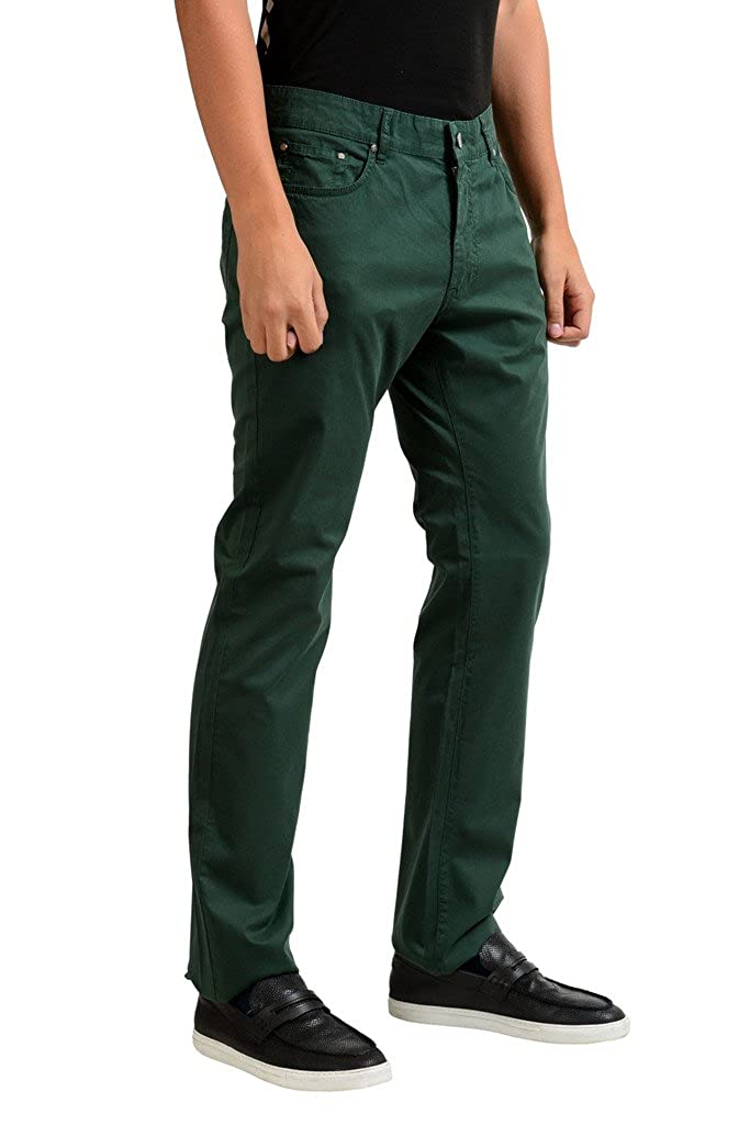 Versace Collection Trend Mens Green Jeans