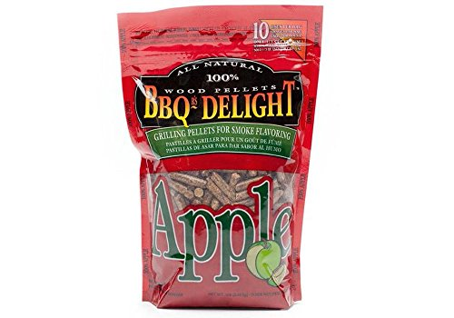 BBQ'rs Delight Apple Wood Pellets 1lb Bag
