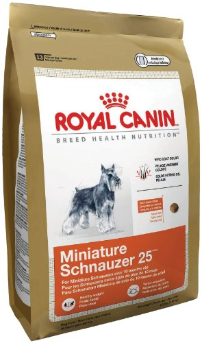 Royal Canin Dry Dog Food, Miniature Schnauzer 25 Formula, 10-Pound Bag, My Pet Supplies