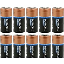 CR123A 3V Lithium Batteries X 10 , Duracell Ultra DL123A,