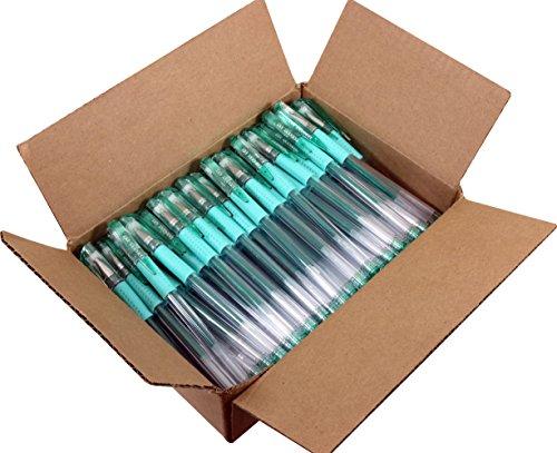 Sargent Art 100 Green Glitter Gel Pen Bulk, Drawing