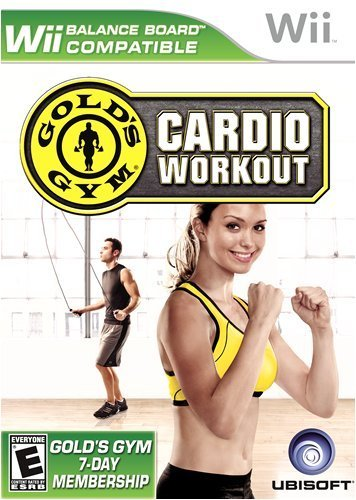 Gold's Gym Cardio Workout - Nintendo Wii by - Gold Gym Wii