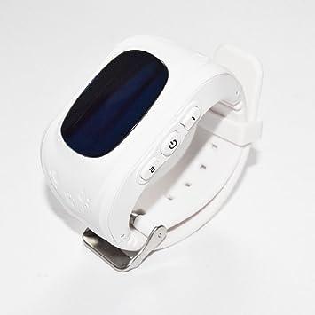 Montre connectée enfant bébé avec GPS et Appel SOS anti perte et traqueur de position (