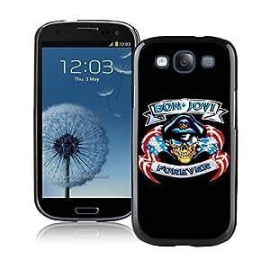 bon jovi 02 Black Individual Custom Samsung Galaxy S3 I9300 Case