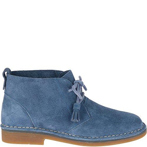 (Hush Puppies Women's Cyra Catelyn Ankle Boot, Vintage Indigo, 10 M US)