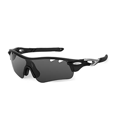 Amazon.com: genalli alto polarizadas Sport anteojos de sol ...