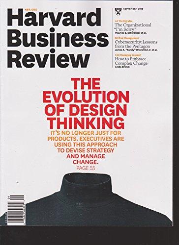 Harvard Business Review Magazine September 2015