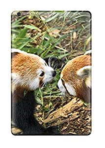 Protective Tpu Case With Fashion Design For Ipad Mini/mini 2 (red Panda Animal)