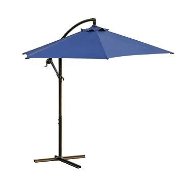 00458550a795 Amazon.com: Rectangular Patio Outdoor Living Solid Color Umbrellas ...