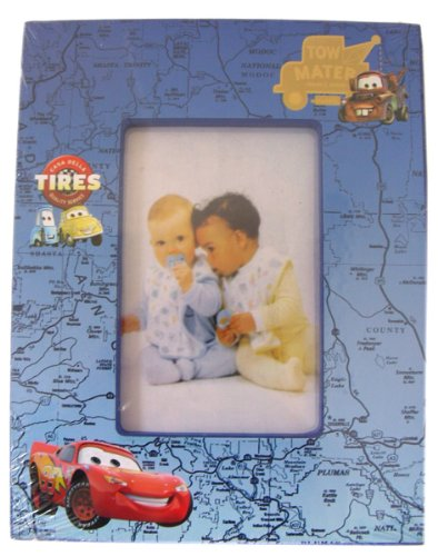 Disney Pixar Cars Photo Frame - Blue Picture Frame